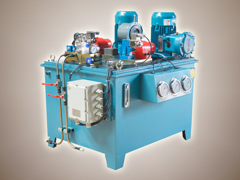 2,产品特点 zy型制动液压泵站能满足绞车,提升机,皮带运输机等设备对图片